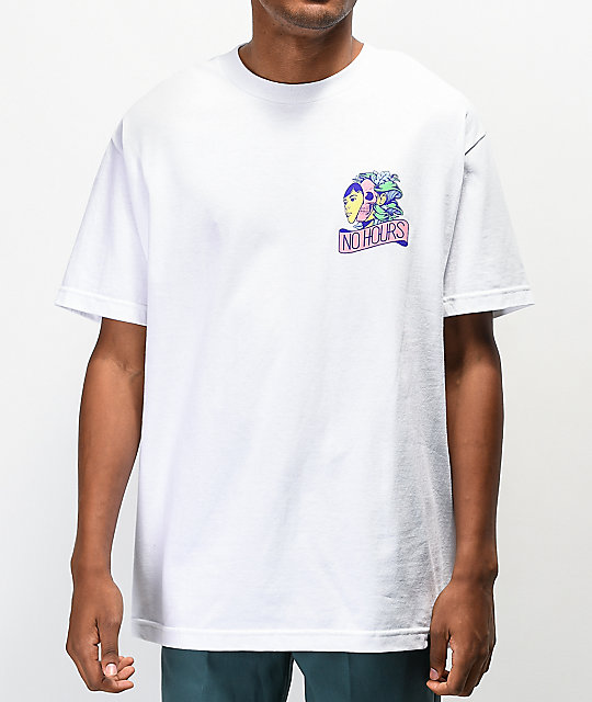 NoHours Home Grown White T-Shirt