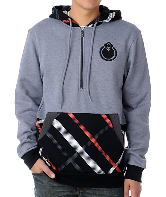 Nomis Double Up Simon Grey Hoodie