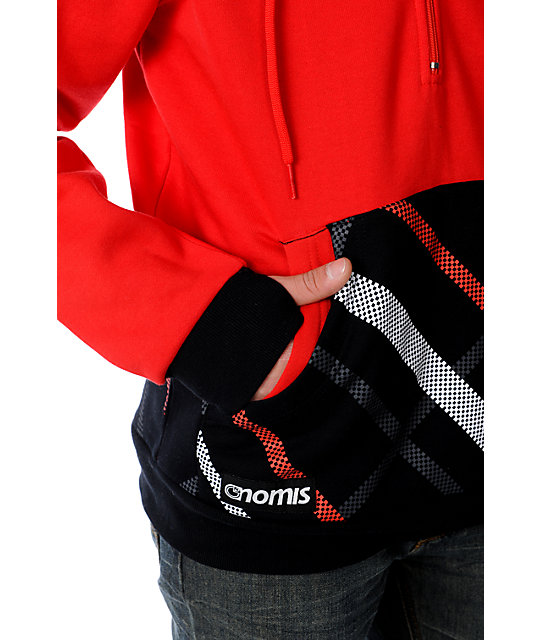 Nomis Double Up Simon Red Hoodie