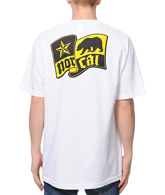 Nor Cal Flagship White T-Shirt