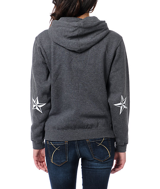 Nor Cal Medieval Charcoal Pullover Hoodie