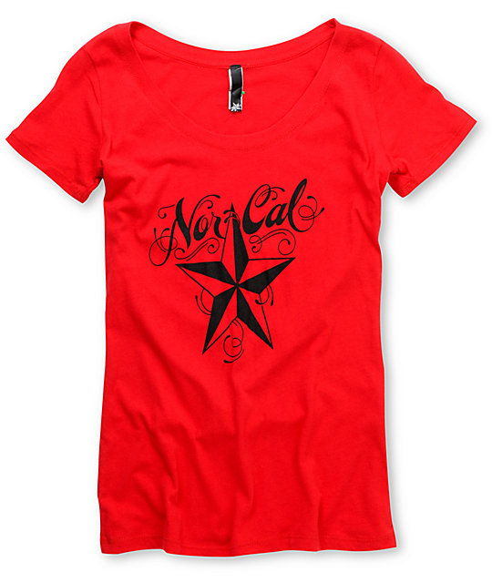 Nor Cal Mission Red T-Shirt