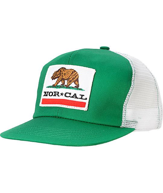 2bc9c66150 Nor Cal Republic Green Trucker Hat