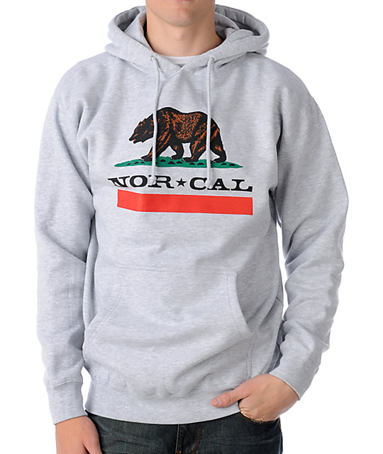 Nor Cal Republic Grey Hoodie