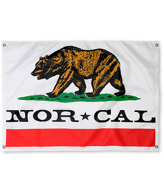 Nor Cal Republic White Flag