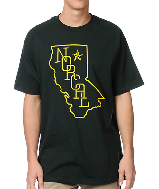 Nor Cal Rookie Green T-Shirt