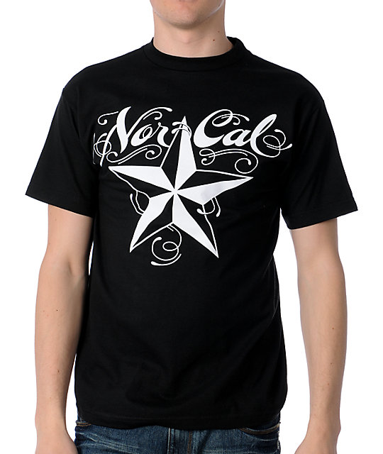Nor Cal The Mission Black T-Shirt