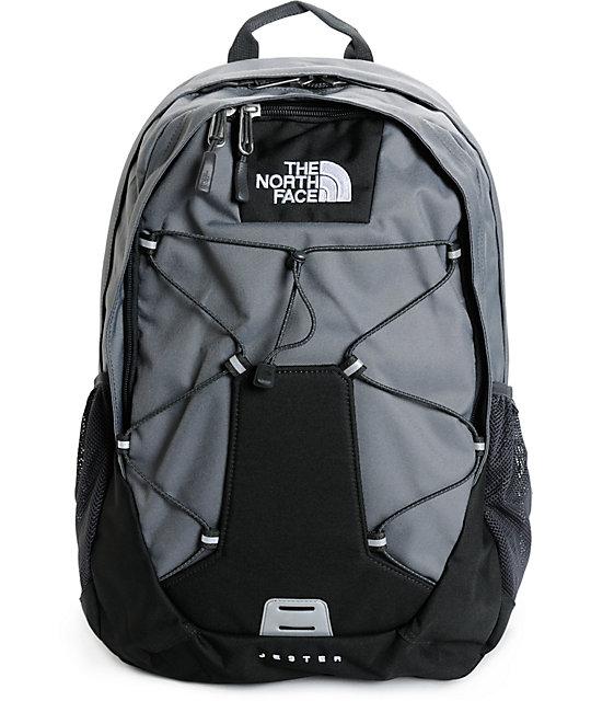 1559f8d97 North Face Jester Black & Grey 26L Backpack