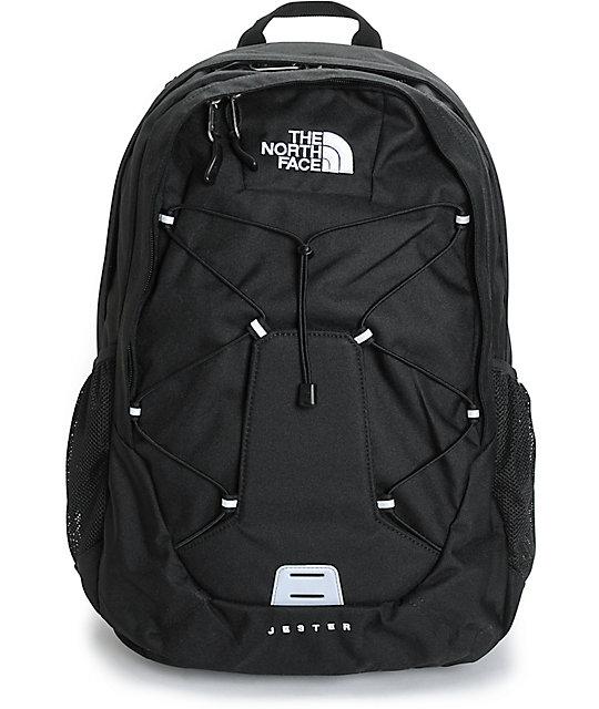 164063c40 North Face Jester Black 26L Backpack