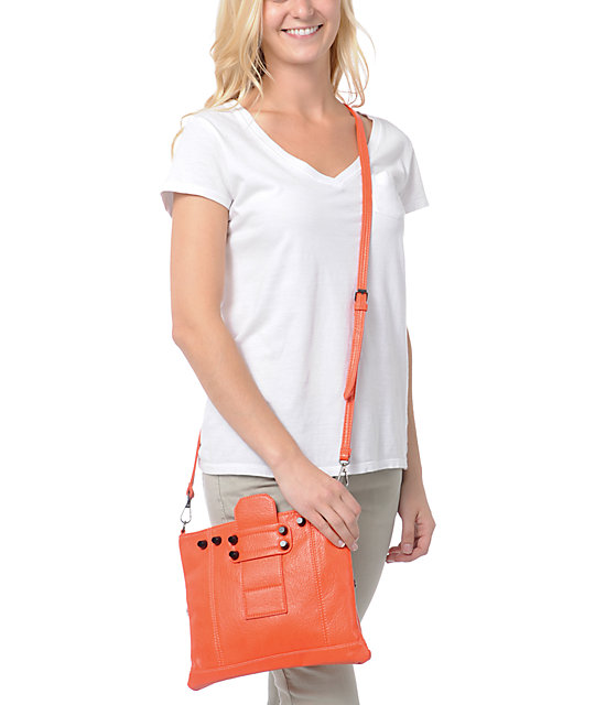 Nu-G Coral Crossbody Clutch Purse
