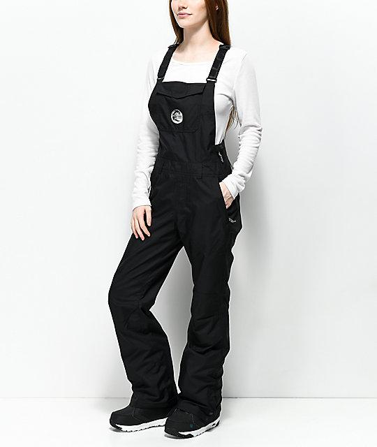 1b1cf21aee O Neill 88  Shred Black 10K Snowboard Bib Pants