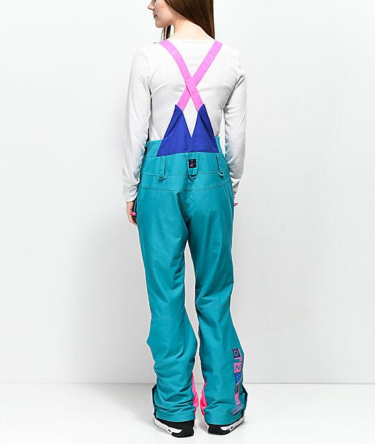 6c5e951465 O Neill 88  Shred Neon Pink 10K Snowboard Bib Pants