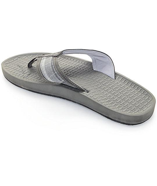 18ed3cffbd60 ... O Neill Koosh Patterns 2 Grey   Plaid Sandals ...