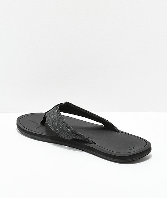 O'Neill Nacho Libre Black Sandals