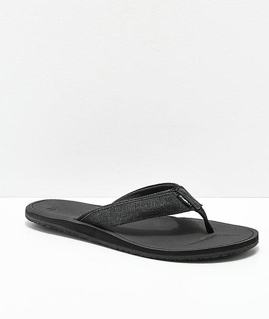 meet 4cf81 0bc57 O'Neill Nacho Libre Black Sandals
