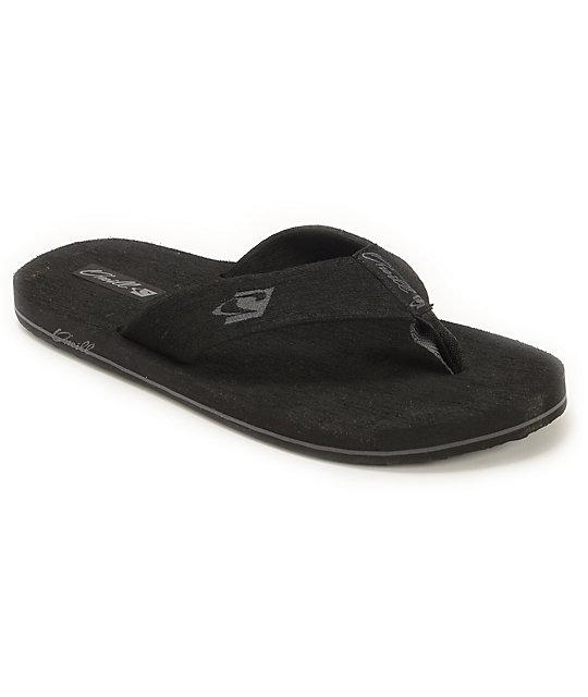 98388465a8b332 O Neill Phluff Daddy 2 Black Sandals
