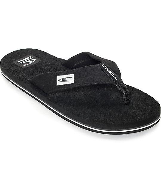 san francisco 1efd3 0f4b3 O'Neill Phluff Daddy Black Sandals