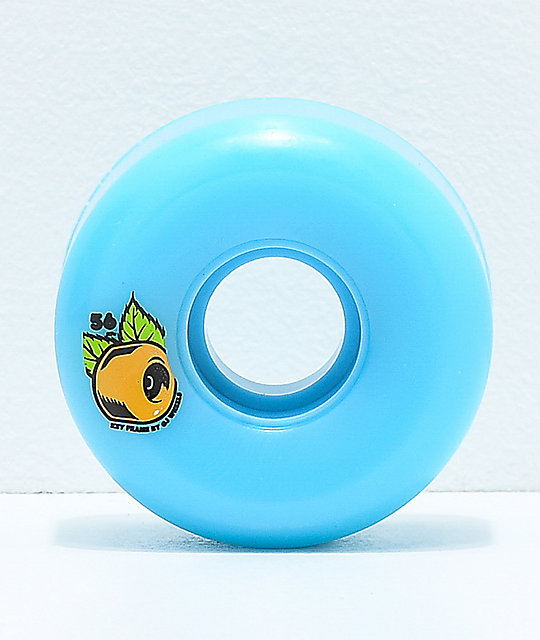 OJ Keyframe 56mm 87a Blue Cruiser Wheels
