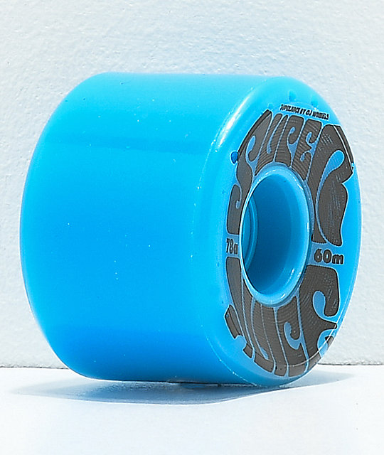 OJ Super Juice 60mm 78a Blue Cruiser Skateboard Wheels