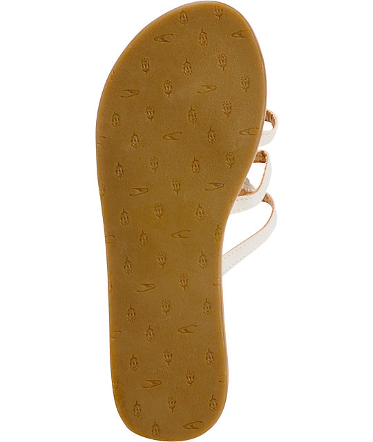 ONeill Zao White Sandals