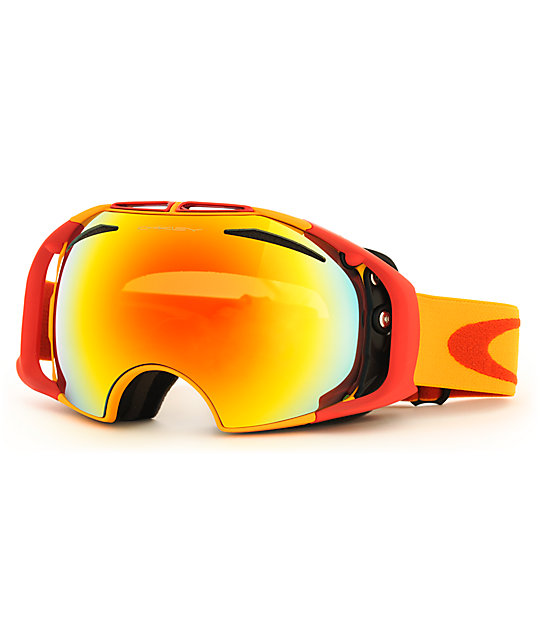 oakley airbrake lenses fire iridium