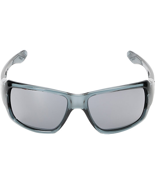Oakley Big Taco Crystal Black & Black Iridium Sunglasses