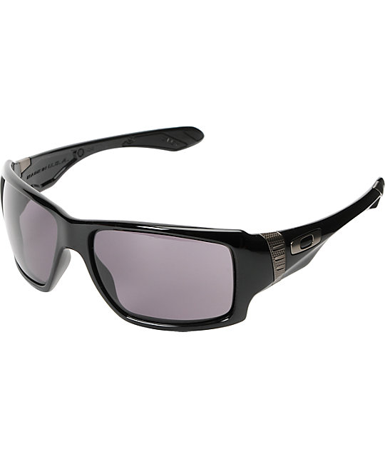 Oakley Big Taco Polished Black Sunglasses