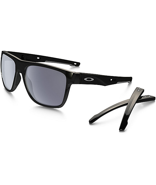 Oakley Crossrange XL Black & Grey Sunglasses