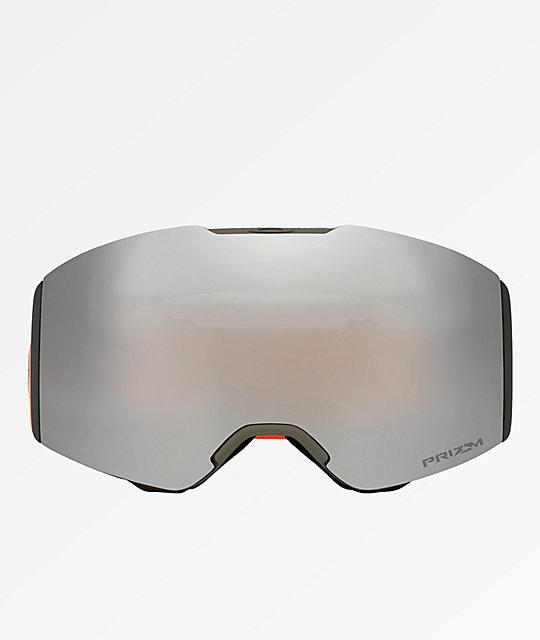 250e991e1a9 ... Oakley Fall Line Orange Brush PRIZM Black Snowboard Goggles