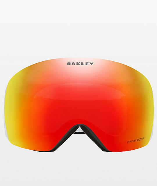 Oakley Flight Deck Black & PRIZM Torch Iridium Snowboard Goggles