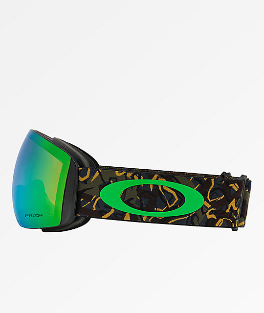 495b9bddf7c9 ... Oakley Flight Deck Camo Vine Jungle   Prizm Jade Snowboard Goggles ...