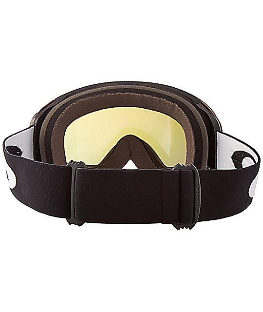 da33e1aa12 ... Oakley Flight Deck Matte Black Fire Iridescent Snowboard Goggles ...