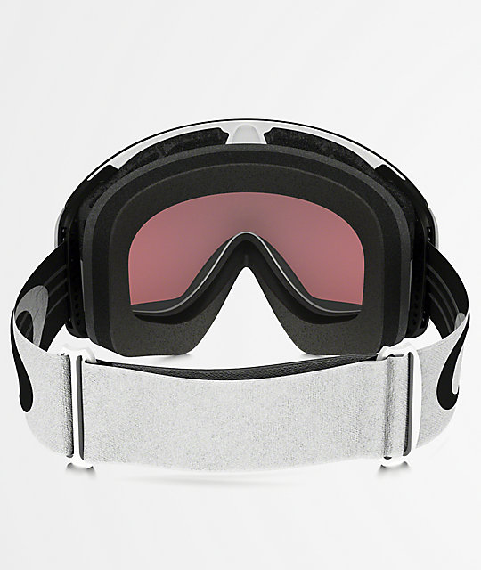Oakley Flight Deck XM White & PRIZM Torch Iridium Snowboard Goggles