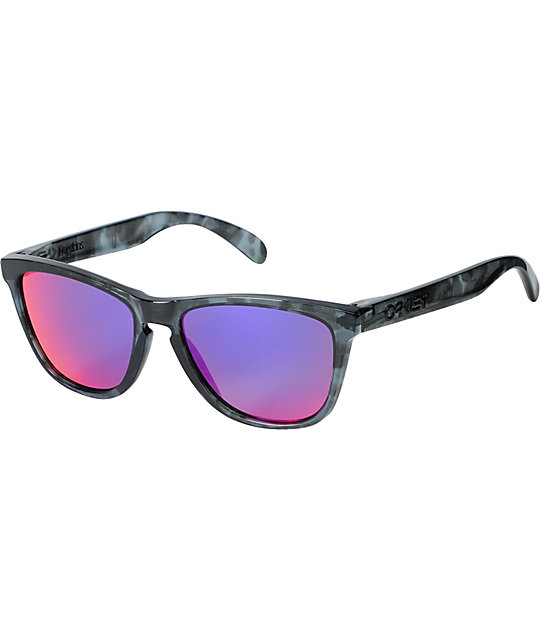 Oakley Frogskins Acid Tortoise Black Sunglasses