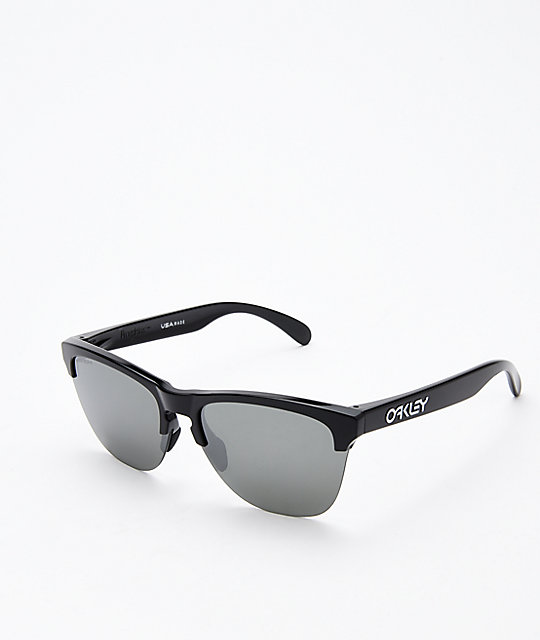 6b9fb503581f Oakley Frogskins Lite Polished Black Prizm Sunglasses