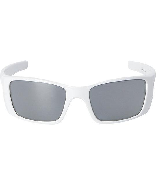 Oakley Fuel Cell White & Black Iridium Sunglasses | Zumiez