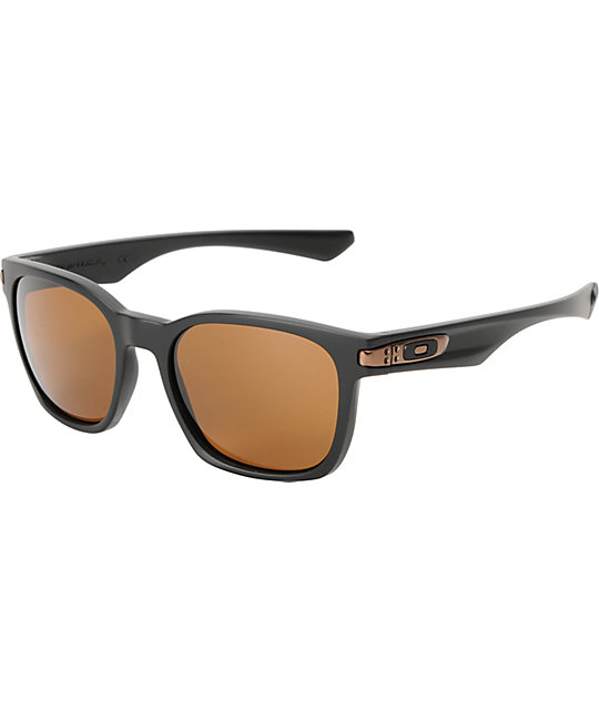 Oakley Garage Rock Matte Black & Dark Bronze Sunglasses