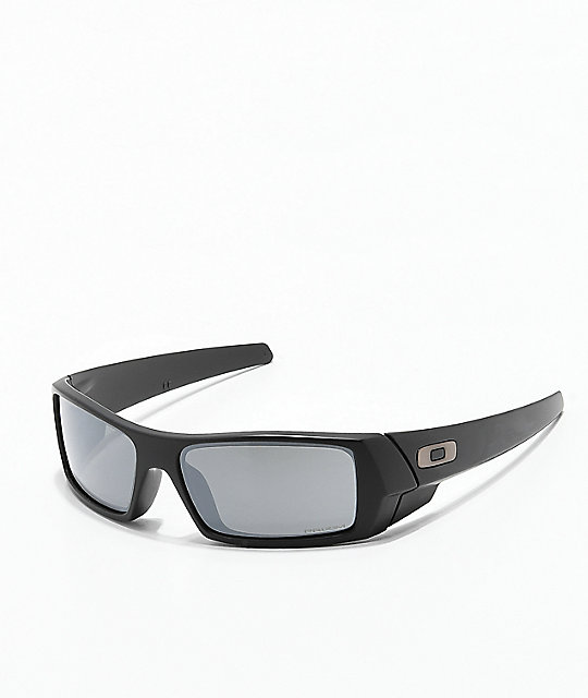 100110ae19c Oakley Gascan Matte Black   Prizm Mirror Sunglasses