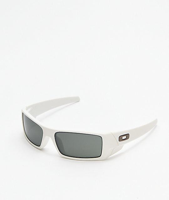 5387fb5977c Oakley Gascan Matte White   Prizm Black Sunglasses