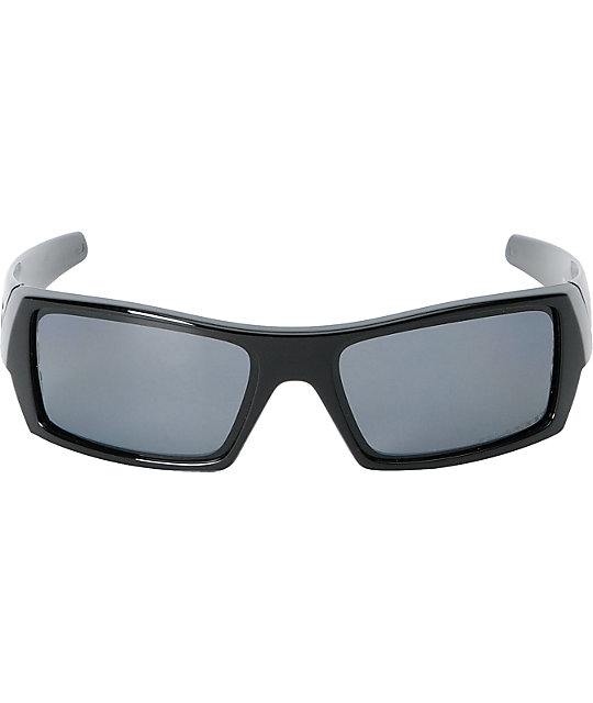 Oakley Gascan Polished Black With Grey Lens Sunglass