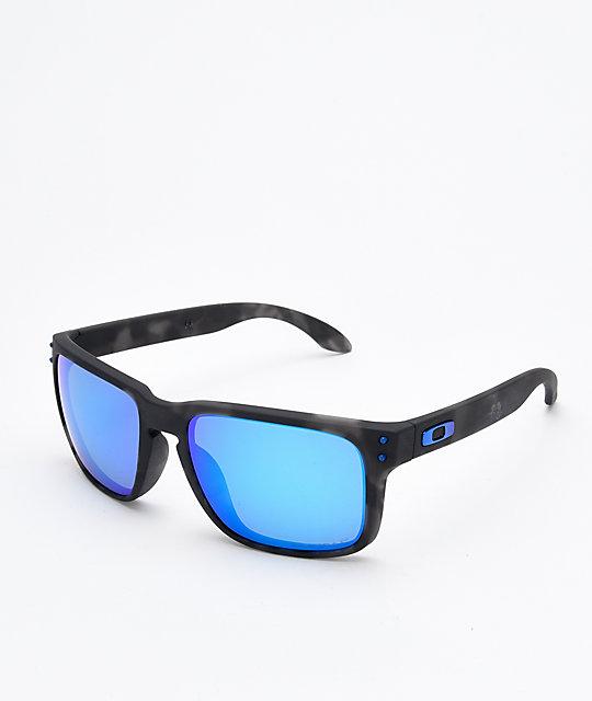 055bd7fe62 Oakley Holbrook Prizm gafas de sol polarizadas en negro mate y carey ...