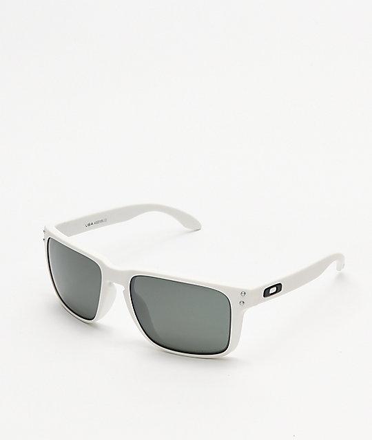 9ae1009acc Oakley Holbrook XL Matte White Prizm Sunglasses