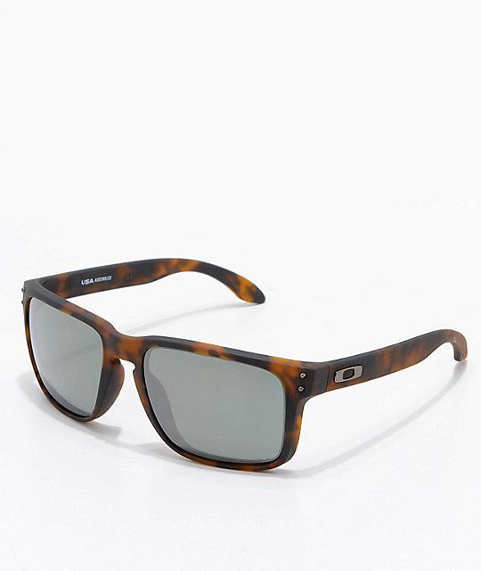 Oakley Holbrook XL Tortoise & Prizm Black Sunglasses ...