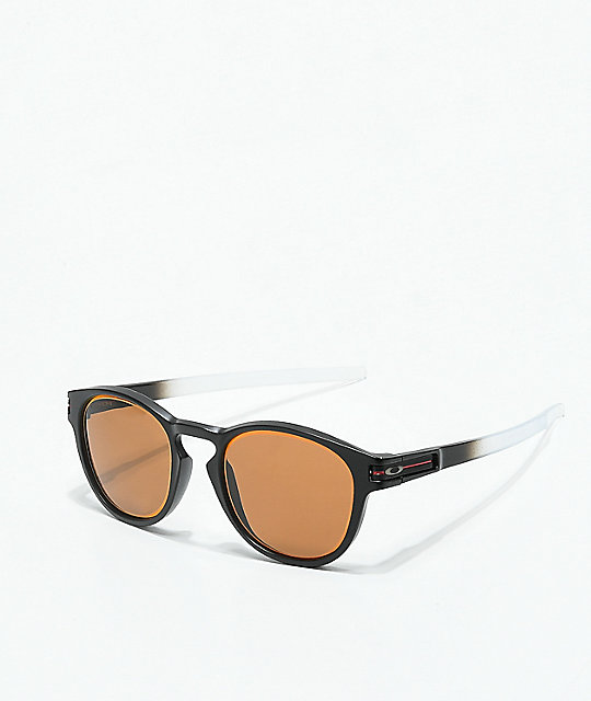 Oakley Latch Borderline Black & Bronze Sunglasses