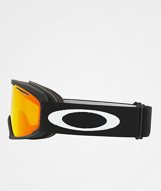 Oakley O Frame 2.0 XL Matte Black & Fire Iridium Snowboard Goggles ...