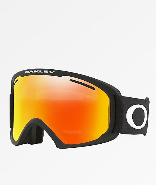 1f84b22628 Oakley O Frame 2.0 XL Matte Black   Fire Iridium Snowboard Goggles ...