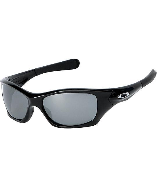 61b73325e2 Oakley Pit Bull Polished Black Polarized Sunglasses