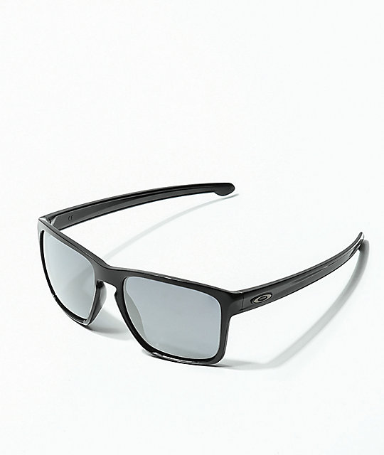 Oakley Sliver XL Polished Black & Iridium Sunglasses