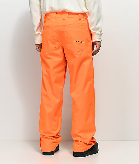 Oakley Sun King Neon Orange BioZone 10K Snowboard Pants