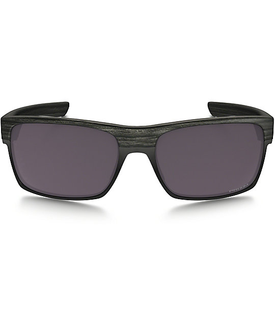Oakley TwoFace Prizm Polarized Woodgrain Sunglasses